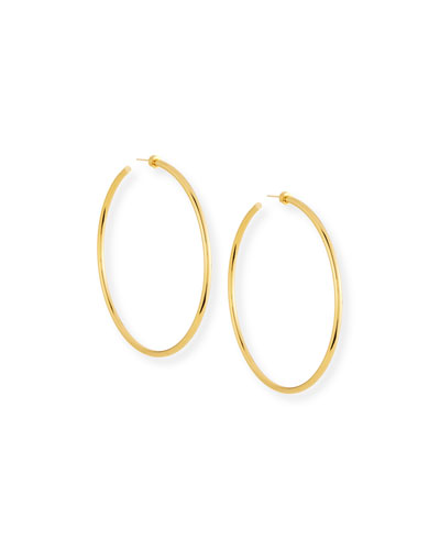 Jennifer Zeuner Selene Hoop Earrings