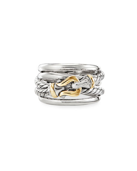 David Yurman DY Crossover Buckle Ring