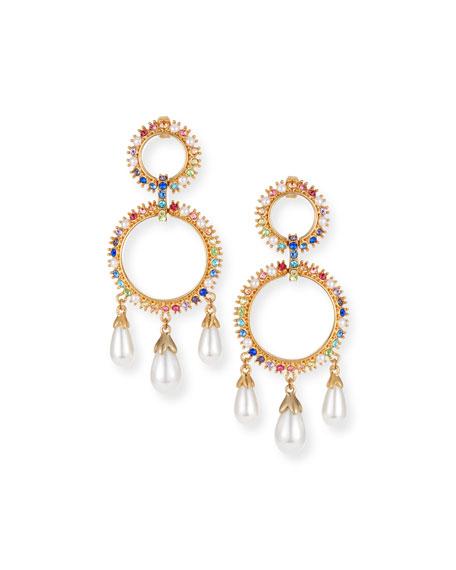 Lulu Frost Lexy Rainbow Drop Earrings