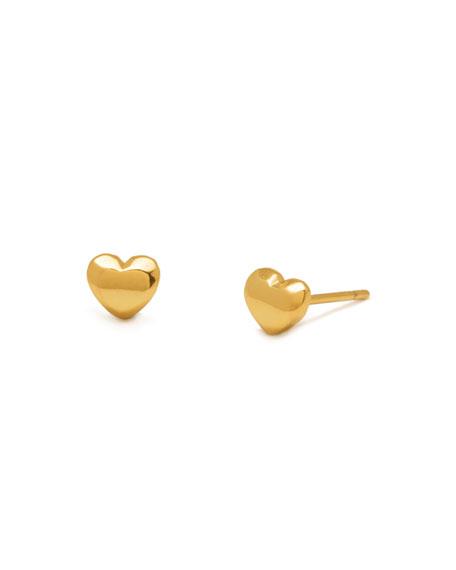gorjana Mini Heart Stud Earrings