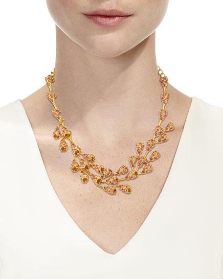 Oscar de la Renta Delicate Evening Crystal Necklace