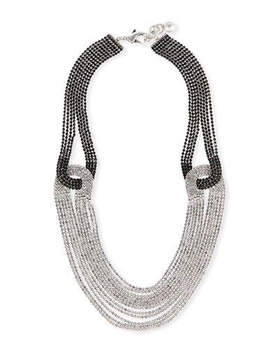 Quixotic Crystal Statement Necklace