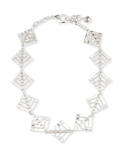 Cascadia Pine Riviera Necklace w/ Crystals