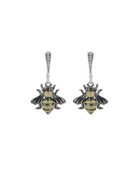 LAGOS Rare Wonders 18k Honeybee Drop Earrings