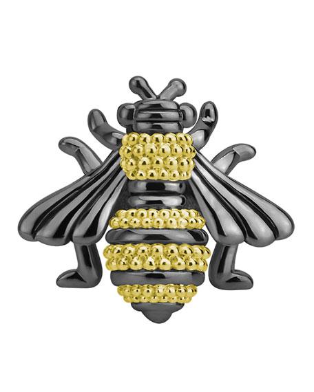 LAGOS Rare Wonders Honeybee Pin w/ 18k Gold