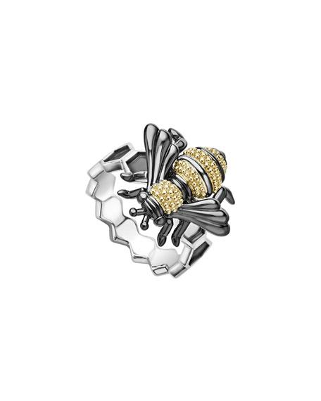 LAGOS Rare Wonders Honeybee Ring w/ 18k Gold