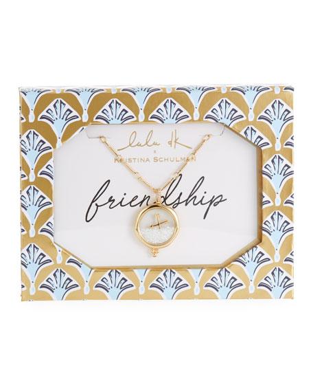 Lulu DK Friendship Shaker Pendant Necklace