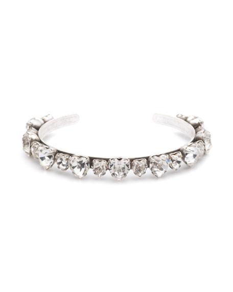 Dannijo Rosie Crystal Cuff Bracelet