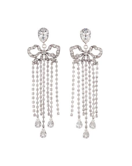 Dannijo Chantel Crystal Dangle Earrings