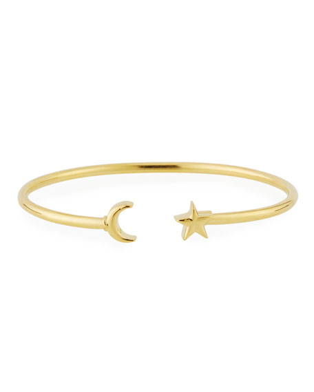 Alex and Ani Moon & Star Cuff Bracelet,