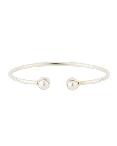 Sea Sultry Cuff Bracelet  Silver