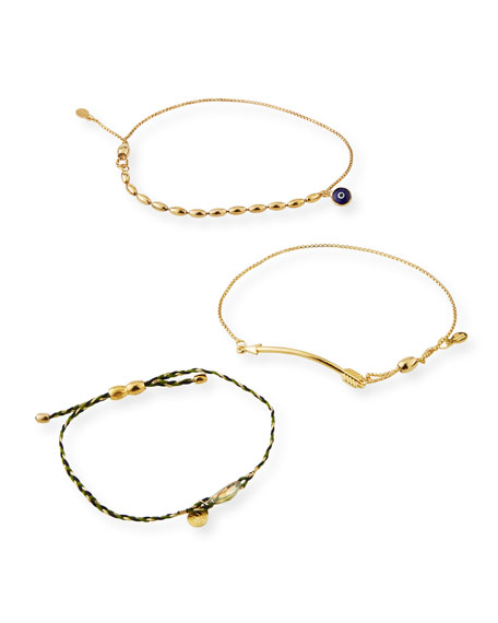 Alex and Ani Arrow Pull-Chain Bracelet Gift Set,
