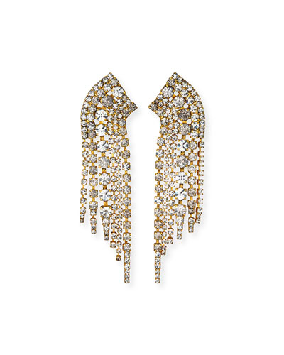 Barrett Crystal Earrings  Clear