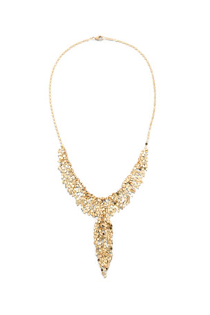 Lana 14k Gold Fringe Lariat Necklace