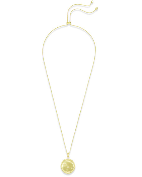 Kendra Scott Cancer Coin Pendant Necklace