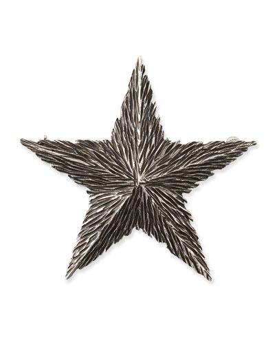 Textured Star Pin