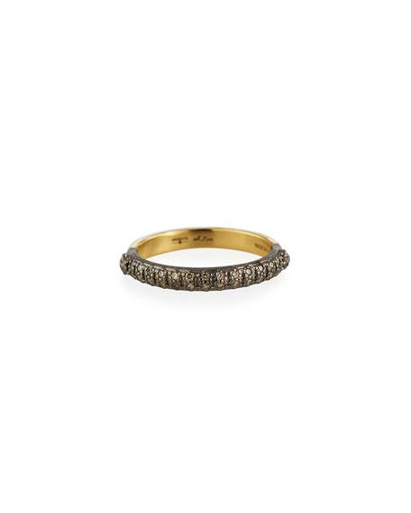 Armenta Accessories OLD WORLD HALFWAY DIAMOND STACK RING