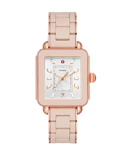 Deco Sport Bracelet Watch in Desert Rose