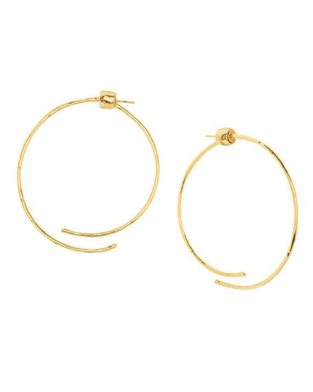 gorjana Taner Coil Hoop Earrings