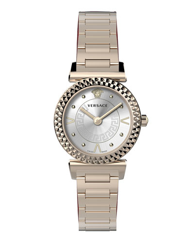 Mini Vanity Watch w/ Bracelet  Rose Gold