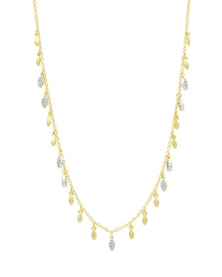Freida Rothman Fleur Bloom Open Pendant Necklace