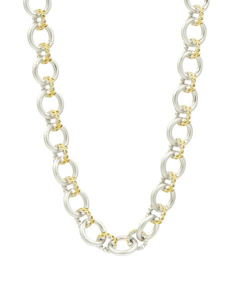 Freida Rothman Fleur Bloom Chunky-Link Necklace