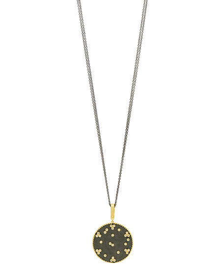 Freida Rothman Signature Double-Sided Pendant Necklace