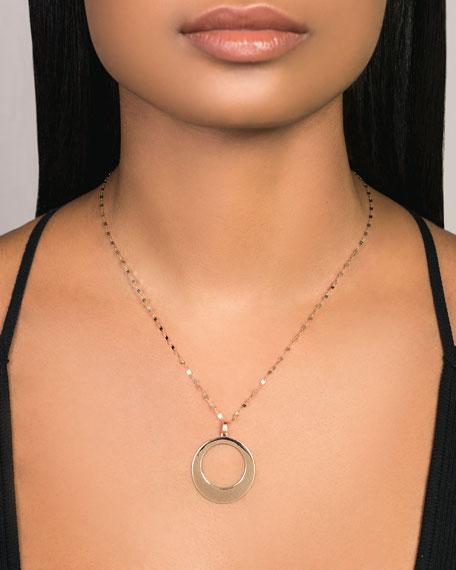 LANA 14k Large Bond-Link Pendant Necklace