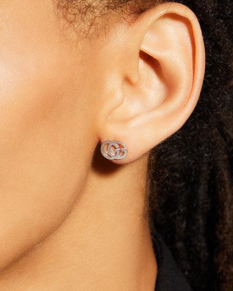 df81d80089e8ca Gucci 18K Gold Running G Stud Earrings   Neiman Marcus