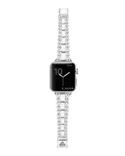 Caviar Bracelet Smart Watch Strap, Medium