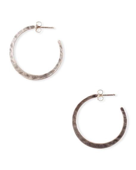 Chan Luu Hammered Hoop Earrings