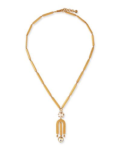 Boboli Long Pendant Necklace