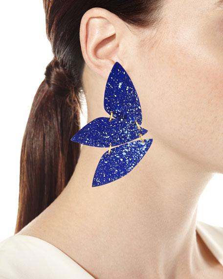 We Dream in Colour Kyklos Pointed Earrings