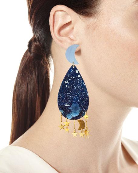 We Dream in Colour Galaxy Dangle Earrings