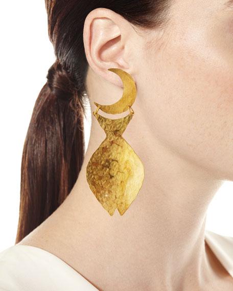 We Dream in Colour Marisol Mismatch Fish Earrings