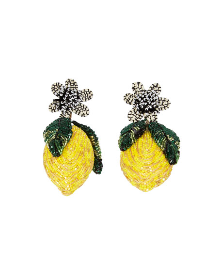 Mignonne Gavigan LEMON LUX EARRINGS