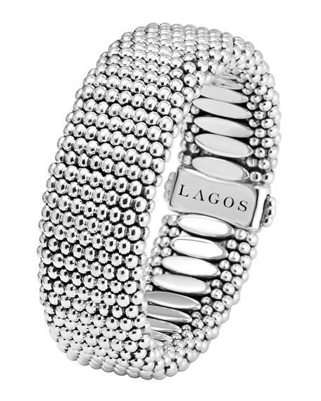 LAGOS Wide Caviar Bracelet