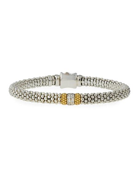 LAGOS Diamond Lux Small Station Bracelet