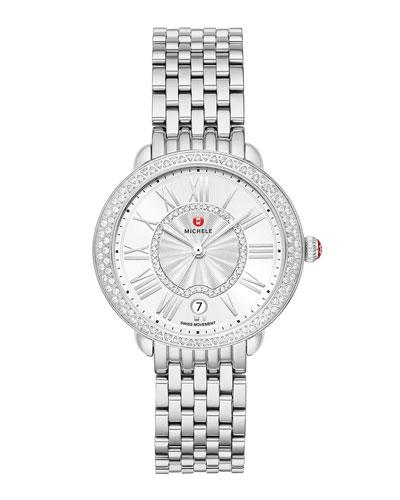 Serein Mid Diamond Watch w/ Date