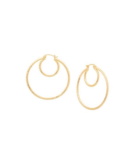 gorjana Bali Double-Hoop Earrings