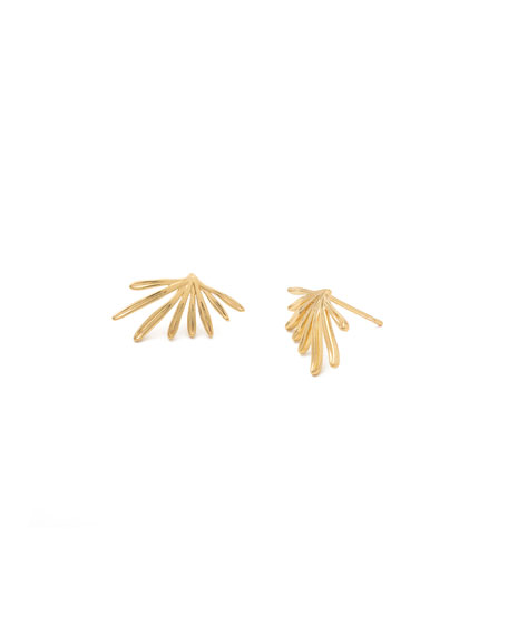gorjana Petal Stud Earrings