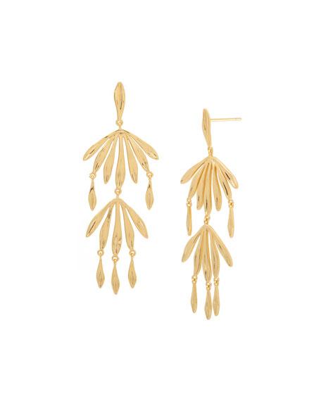 gorjana Petal Drop Earrings