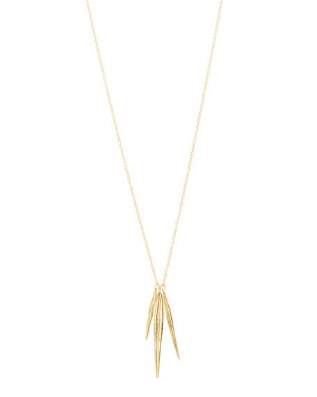 gorjana Petal Long Necklace