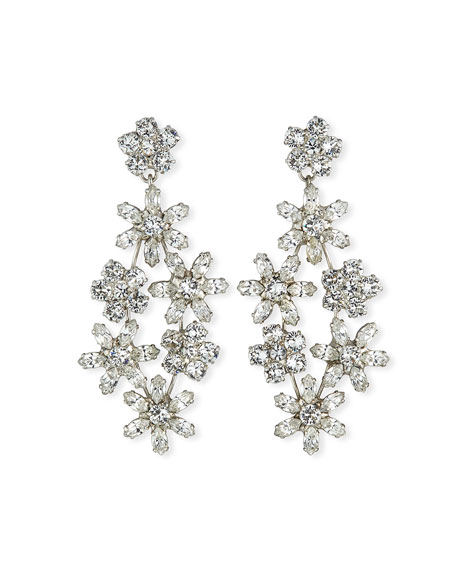 Jennifer Behr Aster Chandelier Earrings