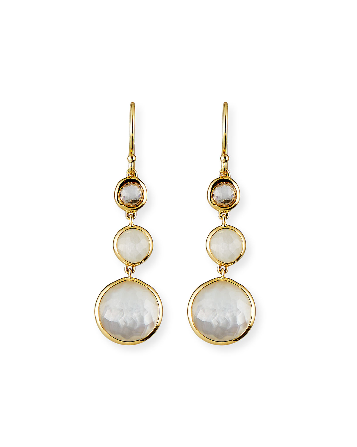 Ippolita 18k Lollipop® Three-Stone Drop Earrings