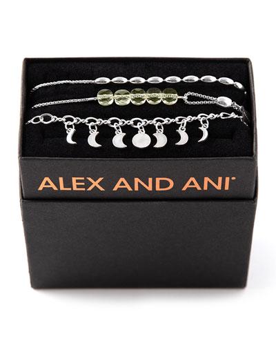 Lunar Phase Bracelet Gift Set