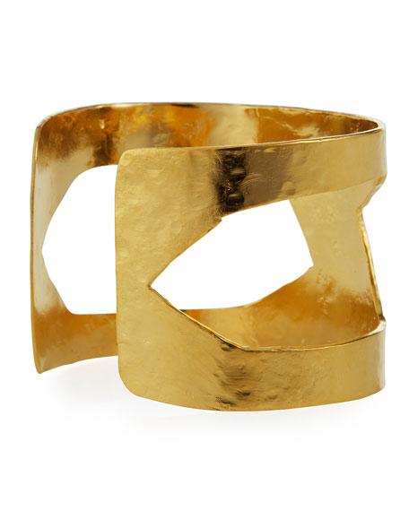 Devon Leigh Cutout Cuff Bracelet