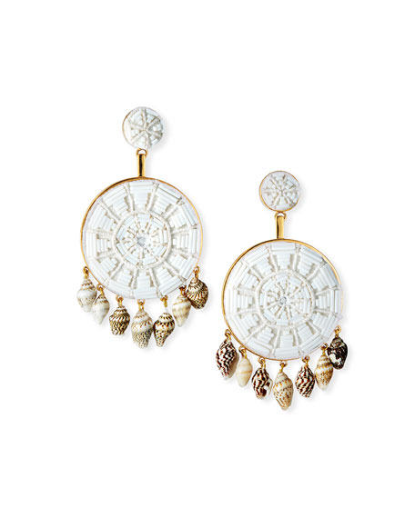Mignonne Gavigan RACHEL DROP EARRINGS