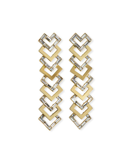 Lulu Frost Adore Statement Earrings