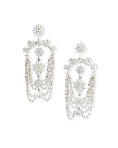 Coronation Swag Earrings